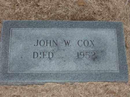 COX, JOHN W. - Lonoke County, Arkansas   JOHN W. COX - Arkansas Gravestone Photos