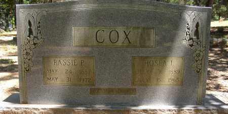 COX, HOSEA I. - Lonoke County, Arkansas | HOSEA I. COX - Arkansas Gravestone Photos
