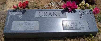 CRANE, ETHEL M - Lonoke County, Arkansas   ETHEL M CRANE - Arkansas Gravestone Photos