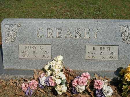 CREASEY, R BERT - Lonoke County, Arkansas | R BERT CREASEY - Arkansas Gravestone Photos