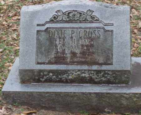 CROSS, DIXIE P - Lonoke County, Arkansas | DIXIE P CROSS - Arkansas Gravestone Photos