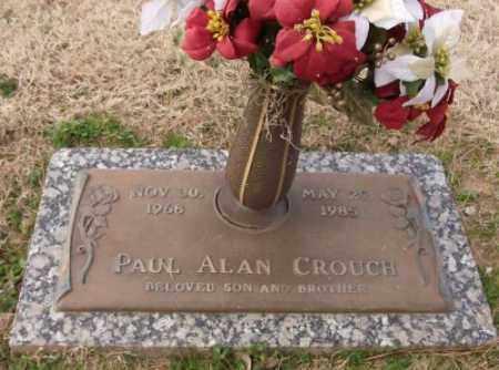 CROUCH, PAUL ALAN - Lonoke County, Arkansas   PAUL ALAN CROUCH - Arkansas Gravestone Photos