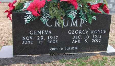 CRUMP, GENEVA - Lonoke County, Arkansas | GENEVA CRUMP - Arkansas Gravestone Photos