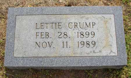 CRUMP, LETTIE - Lonoke County, Arkansas | LETTIE CRUMP - Arkansas Gravestone Photos