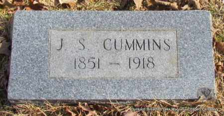 CUMMINS, J S - Lonoke County, Arkansas | J S CUMMINS - Arkansas Gravestone Photos
