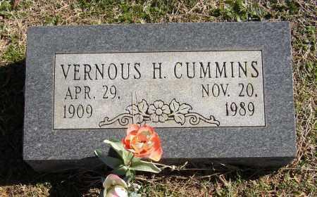 CUMMINS, VERNOUS H. - Lonoke County, Arkansas   VERNOUS H. CUMMINS - Arkansas Gravestone Photos