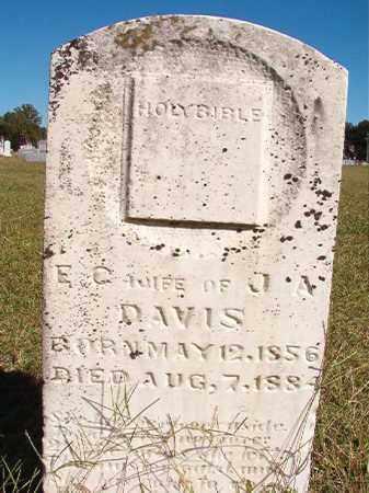 DAVIS, E C - Lonoke County, Arkansas | E C DAVIS - Arkansas Gravestone Photos