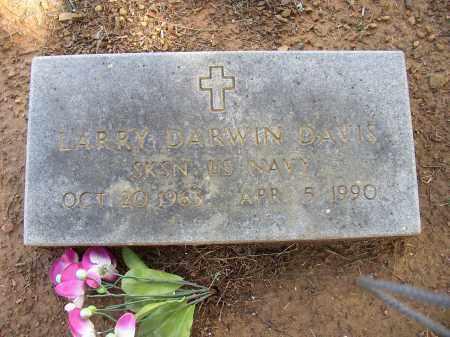 DAVIS (VETERAN), LARRY DARWIN - Lonoke County, Arkansas | LARRY DARWIN DAVIS (VETERAN) - Arkansas Gravestone Photos
