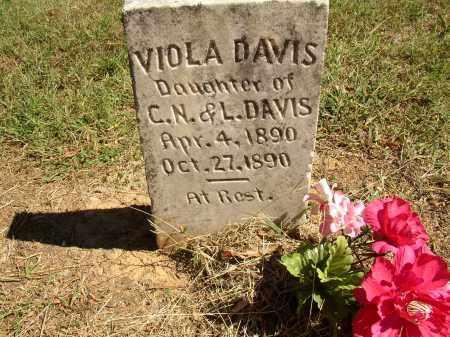 DAVIS, VIOLA - Lonoke County, Arkansas   VIOLA DAVIS - Arkansas Gravestone Photos