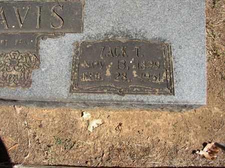 DAVIS, ZACK T. - Lonoke County, Arkansas   ZACK T. DAVIS - Arkansas Gravestone Photos