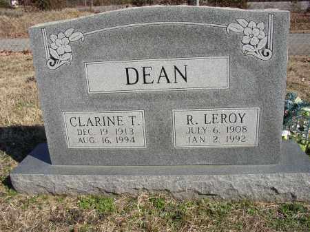 DEAN, R. LEROY - Lonoke County, Arkansas | R. LEROY DEAN - Arkansas Gravestone Photos