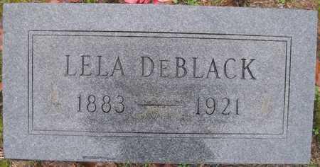 DEBLACK, LELA - Lonoke County, Arkansas | LELA DEBLACK - Arkansas Gravestone Photos