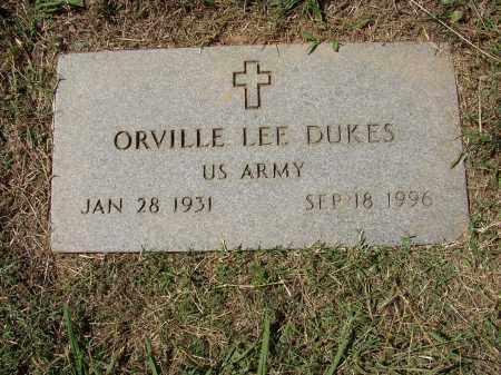 DUKES (VETERAN), ORVILLE LEE - Lonoke County, Arkansas   ORVILLE LEE DUKES (VETERAN) - Arkansas Gravestone Photos