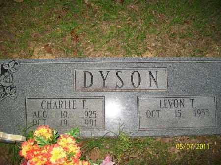 DYSON, CHARLIE T. - Lonoke County, Arkansas   CHARLIE T. DYSON - Arkansas Gravestone Photos