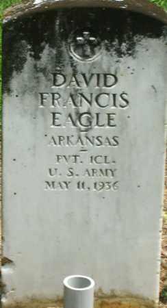 EAGLE (VETERAN), DAVID FRANCIS - Lonoke County, Arkansas   DAVID FRANCIS EAGLE (VETERAN) - Arkansas Gravestone Photos