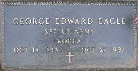 EAGLE (VETERAN KOR), GEORGE EDWARD - Lonoke County, Arkansas | GEORGE EDWARD EAGLE (VETERAN KOR) - Arkansas Gravestone Photos