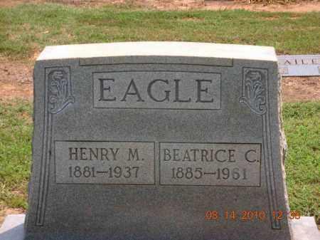 EAGLE, HENRY M - Lonoke County, Arkansas   HENRY M EAGLE - Arkansas Gravestone Photos