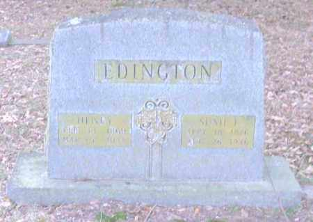 EDINGTON, SUSIE I - Lonoke County, Arkansas | SUSIE I EDINGTON - Arkansas Gravestone Photos