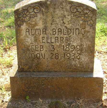BALDING ELLARD, ALMA - Lonoke County, Arkansas | ALMA BALDING ELLARD - Arkansas Gravestone Photos