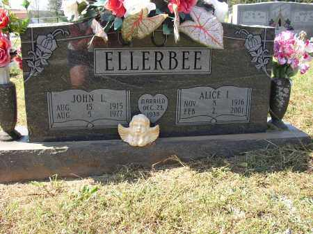 ELLERBEE, ALICE I. - Lonoke County, Arkansas | ALICE I. ELLERBEE - Arkansas Gravestone Photos