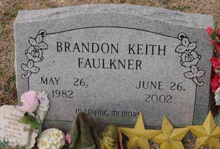 FAULKNER, BRANDON KEITH - Lonoke County, Arkansas | BRANDON KEITH FAULKNER - Arkansas Gravestone Photos
