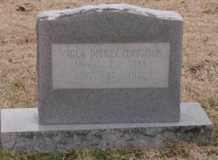 DICKEY FERGUSON, VIOLA - Lonoke County, Arkansas   VIOLA DICKEY FERGUSON - Arkansas Gravestone Photos