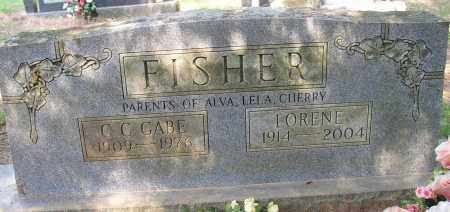 "FISHER, C. C. ""GABE"" - Lonoke County, Arkansas | C. C. ""GABE"" FISHER - Arkansas Gravestone Photos"