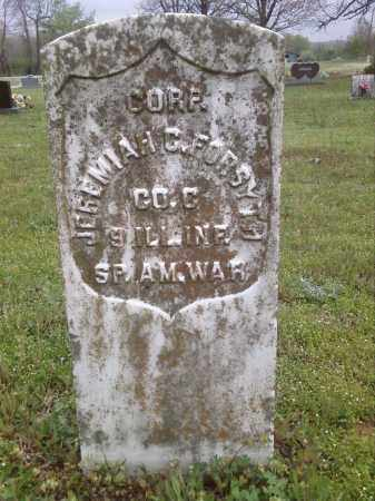 FORSYTH  (VETERAN  SAW), JEREMIAH C - Lonoke County, Arkansas | JEREMIAH C FORSYTH  (VETERAN  SAW) - Arkansas Gravestone Photos