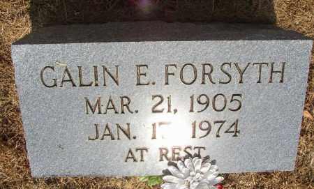 FORSYTH, GALIN E. - Lonoke County, Arkansas | GALIN E. FORSYTH - Arkansas Gravestone Photos