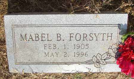 FORSYTH, MABEL B. - Lonoke County, Arkansas   MABEL B. FORSYTH - Arkansas Gravestone Photos