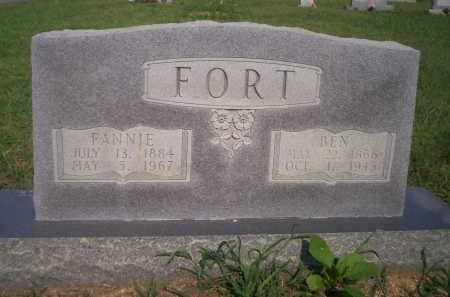FORT, FANNIE - Lonoke County, Arkansas | FANNIE FORT - Arkansas Gravestone Photos