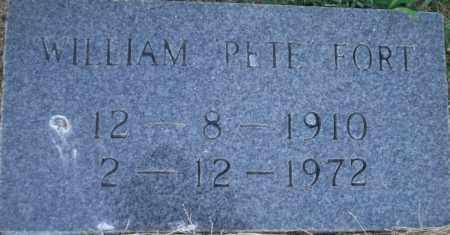 "FORT, WILLIAM  ""PETE"" - Lonoke County, Arkansas   WILLIAM  ""PETE"" FORT - Arkansas Gravestone Photos"