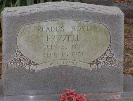 FRIZZELL, READUS HOYT - Lonoke County, Arkansas | READUS HOYT FRIZZELL - Arkansas Gravestone Photos