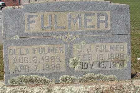 FULMER, J. J. - Lonoke County, Arkansas | J. J. FULMER - Arkansas Gravestone Photos