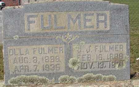 FULMER, OLLA - Lonoke County, Arkansas | OLLA FULMER - Arkansas Gravestone Photos