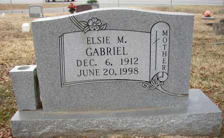 GABRIEL, ELSIE M. - Lonoke County, Arkansas   ELSIE M. GABRIEL - Arkansas Gravestone Photos