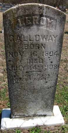 GALLOWAY, LEROY - Lonoke County, Arkansas | LEROY GALLOWAY - Arkansas Gravestone Photos