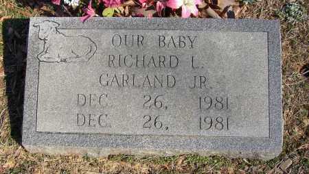 GARLAND, RICHARD L. - Lonoke County, Arkansas | RICHARD L. GARLAND - Arkansas Gravestone Photos