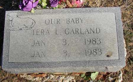GARLAND, TERA L. - Lonoke County, Arkansas | TERA L. GARLAND - Arkansas Gravestone Photos