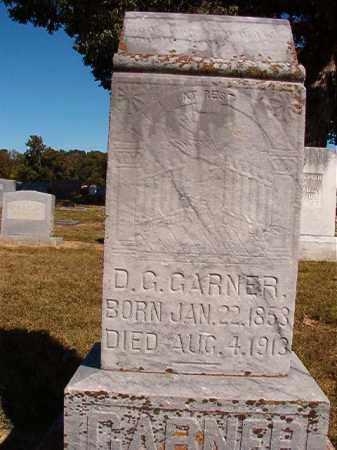 GARNER, D G - Lonoke County, Arkansas   D G GARNER - Arkansas Gravestone Photos