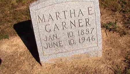 GARNER, MARTHA E - Lonoke County, Arkansas | MARTHA E GARNER - Arkansas Gravestone Photos