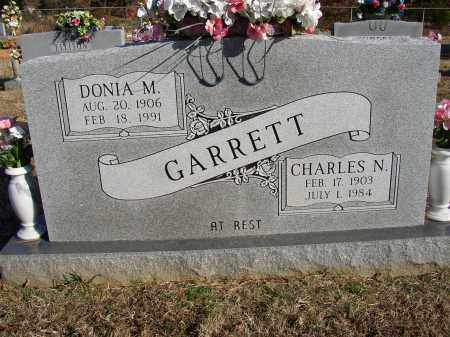 GARRETT, CHARLES N. - Lonoke County, Arkansas | CHARLES N. GARRETT - Arkansas Gravestone Photos