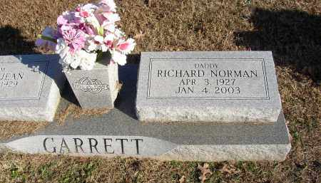 GARRETT, RICHARD NORMAN - Lonoke County, Arkansas | RICHARD NORMAN GARRETT - Arkansas Gravestone Photos