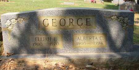 GEORGE, ALBERTA C. - Lonoke County, Arkansas | ALBERTA C. GEORGE - Arkansas Gravestone Photos