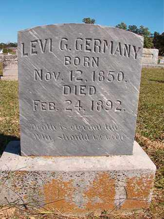 GERMANY, LEVI G - Lonoke County, Arkansas | LEVI G GERMANY - Arkansas Gravestone Photos