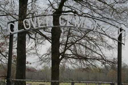 *GLOVER CEMETERY ENTRANCE,  - Lonoke County, Arkansas    *GLOVER CEMETERY ENTRANCE - Arkansas Gravestone Photos