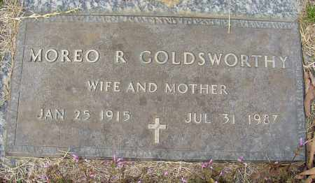 GOLDSWORTHY, MOREO R. - Lonoke County, Arkansas   MOREO R. GOLDSWORTHY - Arkansas Gravestone Photos