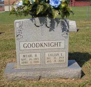 GOODKNIGHT, LILLIAN L. - Lonoke County, Arkansas   LILLIAN L. GOODKNIGHT - Arkansas Gravestone Photos