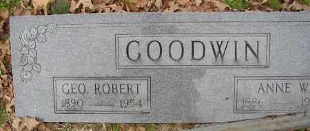 GOODWIN, GEO ROBERT - Lonoke County, Arkansas | GEO ROBERT GOODWIN - Arkansas Gravestone Photos