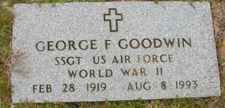 GOODWIN (VETERAN WWII), GEORGE F - Lonoke County, Arkansas | GEORGE F GOODWIN (VETERAN WWII) - Arkansas Gravestone Photos